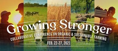 Growing Stronger Collaborative Conference on Organic & Sustainable Farming -- MOSES 2021 logo