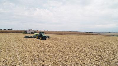 fall drilling cover crop