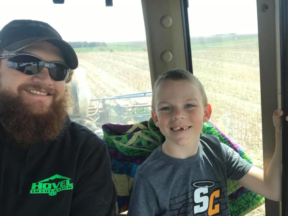 Ben and Milo Storm planting
