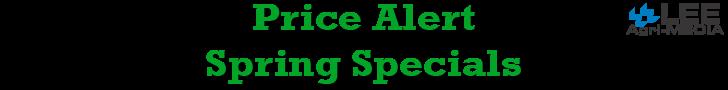 AgUpdate - Spring Specials