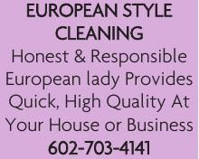 European Style Cleaning
