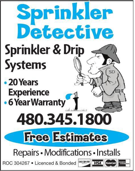 Sprinkler Detective