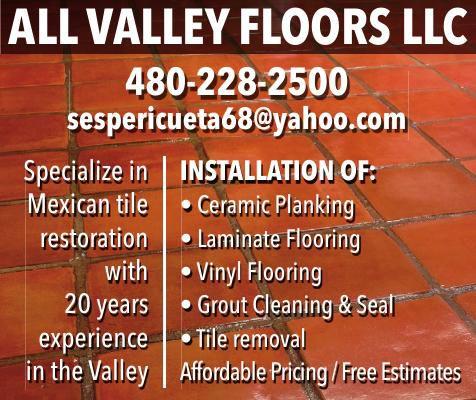 ALL VALLEY FLOORS LLC