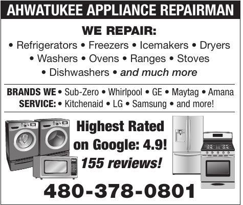 Ahwatukee Appliance Repairman