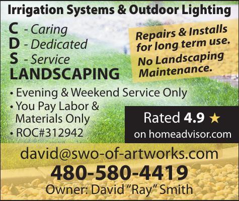 Irrigation Systems & Outdoor Lighting