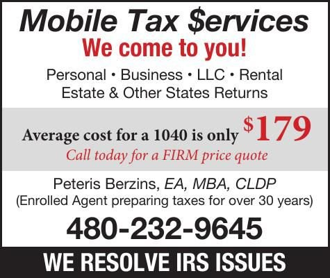 Mobile Tax Services