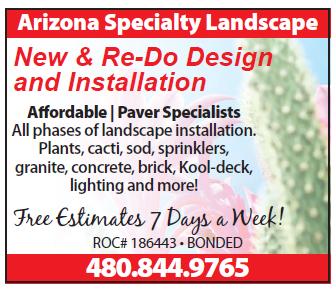 Arizona Specialty Landscape