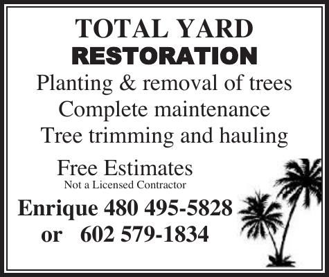 Total Yard Restoration