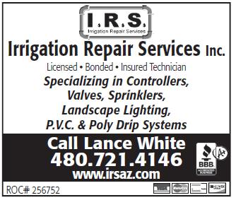 Irrigation Repair Services