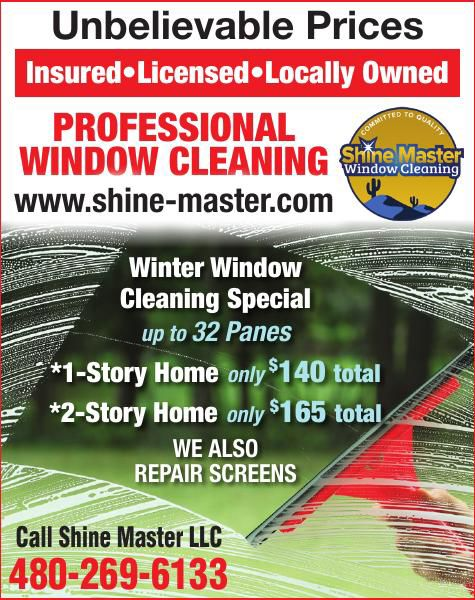 Shine Master Window Cleaning