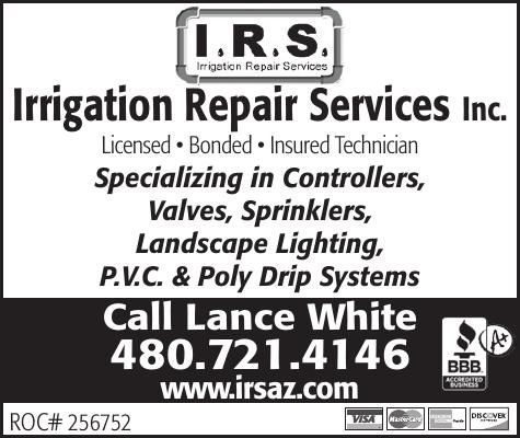 Irrigation Repair Services