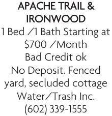 Apache Trail & Ironwood