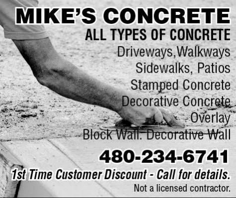 MIKE'S CONCRETE