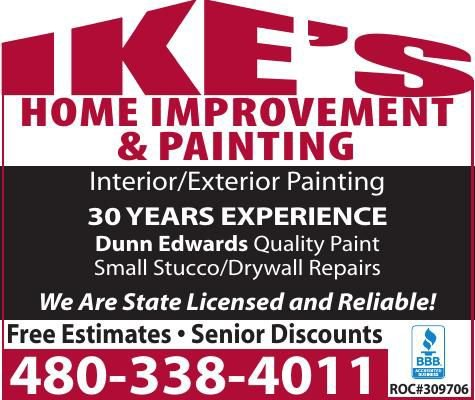 Ike's Home Improvement & Painting