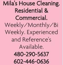 Mila's House Cleaning