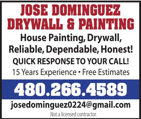 Jose Dominguez Drywall & Painting