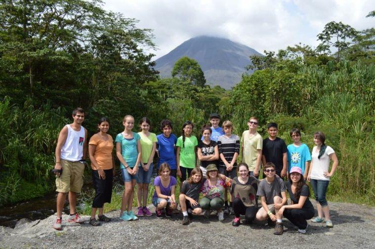 Ahwatukee\'s Desert Garden Montessori students visit Costa Rica ...
