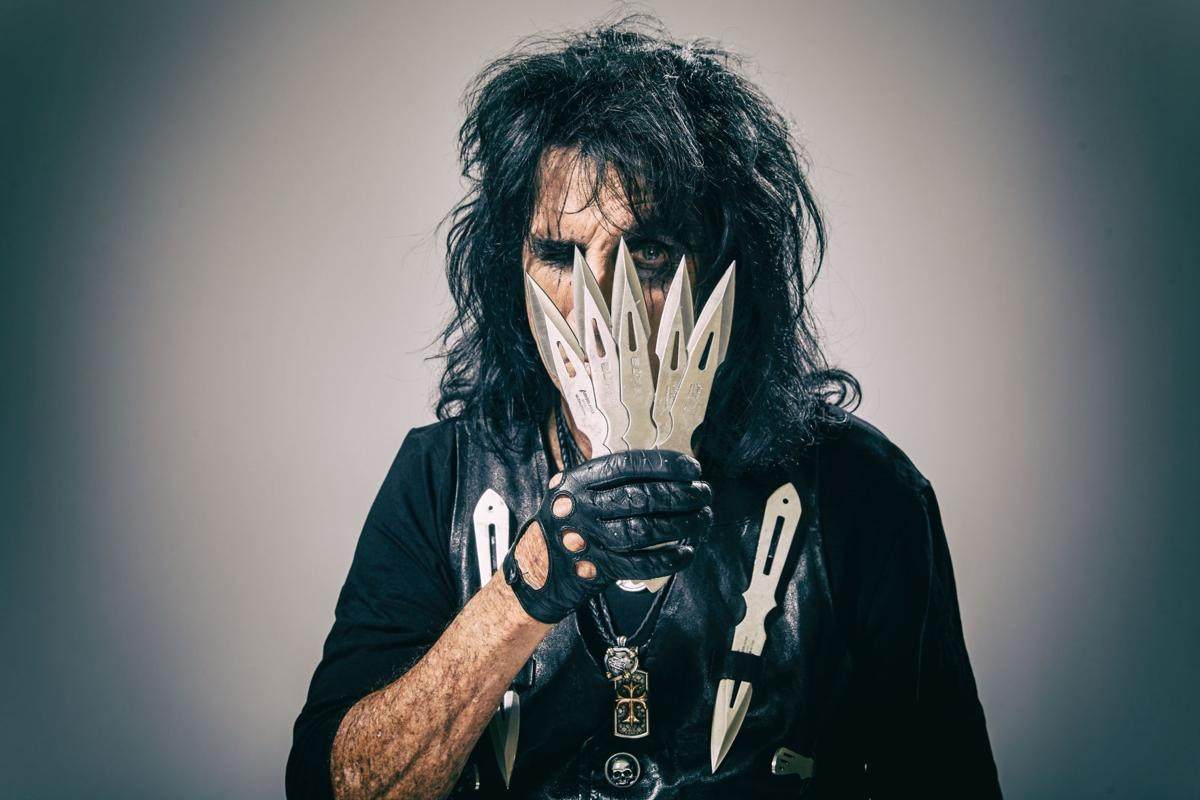 """Valley rock legend Alice Cooper is excited about his new album, """"paranormal,"""" and tour."""