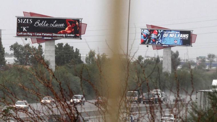 Electronic billboard ordinance