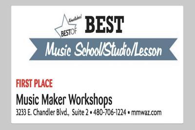 Music Maker Workshops  3233 E. Chandler Blvd.,  Suite 2