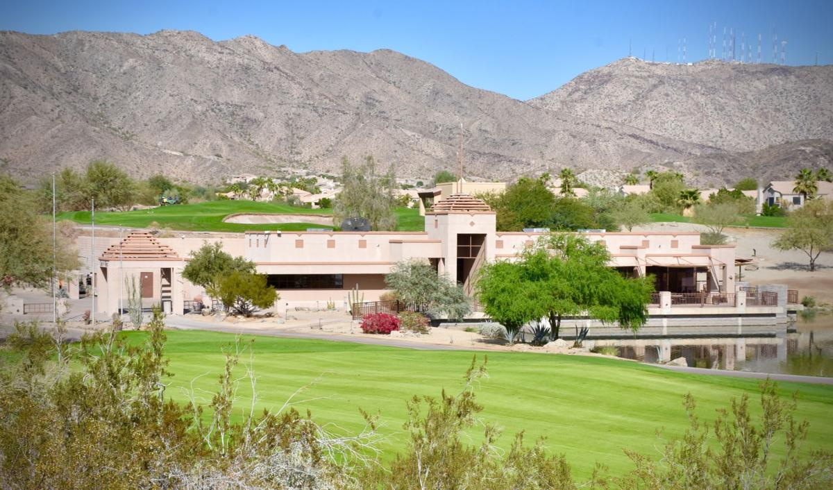 Located on the far right side of the Club West clubhouse, Biscuits restaurant offers indoor and outdoor seating with views of the lake and the lush fairways. Its menu mirrors those of the other three Biscuits, including one on Elliot Road in Ahwatukee and ones in Tempe and Gilbert.