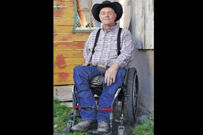 Paralyzed rodeo rider back in the ring Kerry Jones