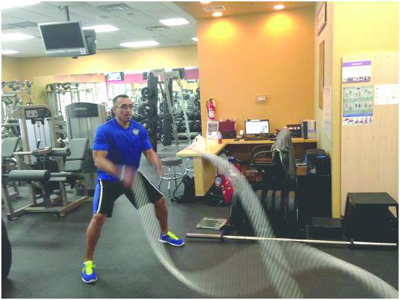 Vegas Davis of Anytime Fitness