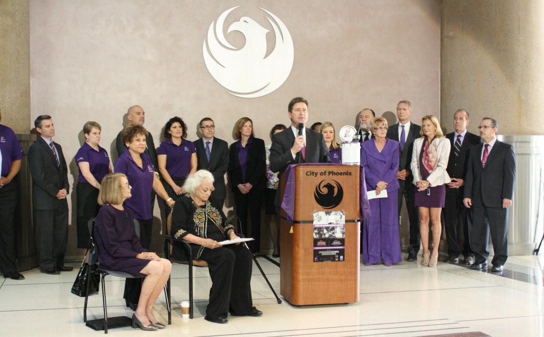 Paint Phoenix Purple Campaign