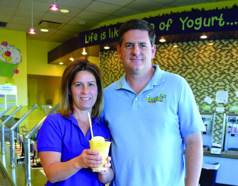Sue and Brian McHugh have turned over Yoasis in Ahwatukee to new owners Emmie and Morris Howell as they settle into a new life in Ohio.