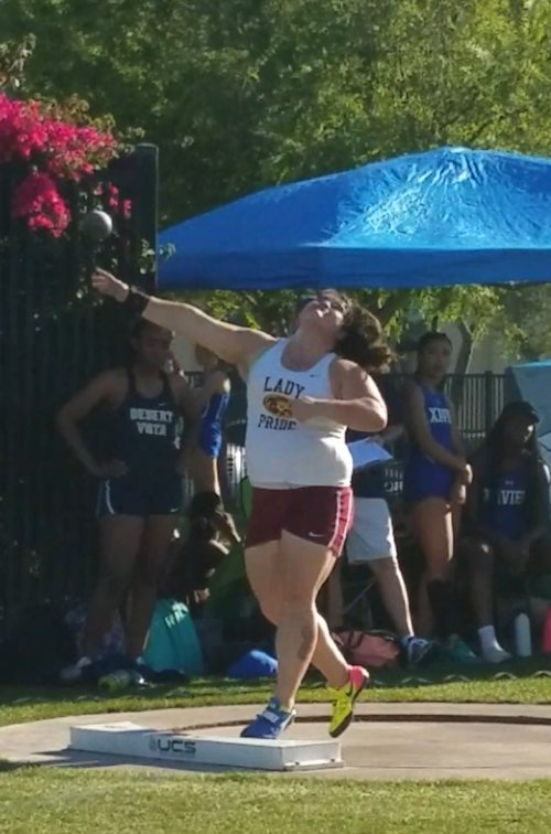 Mountain Pointe High School senior Kayleigh Conlon keeps setting new standards