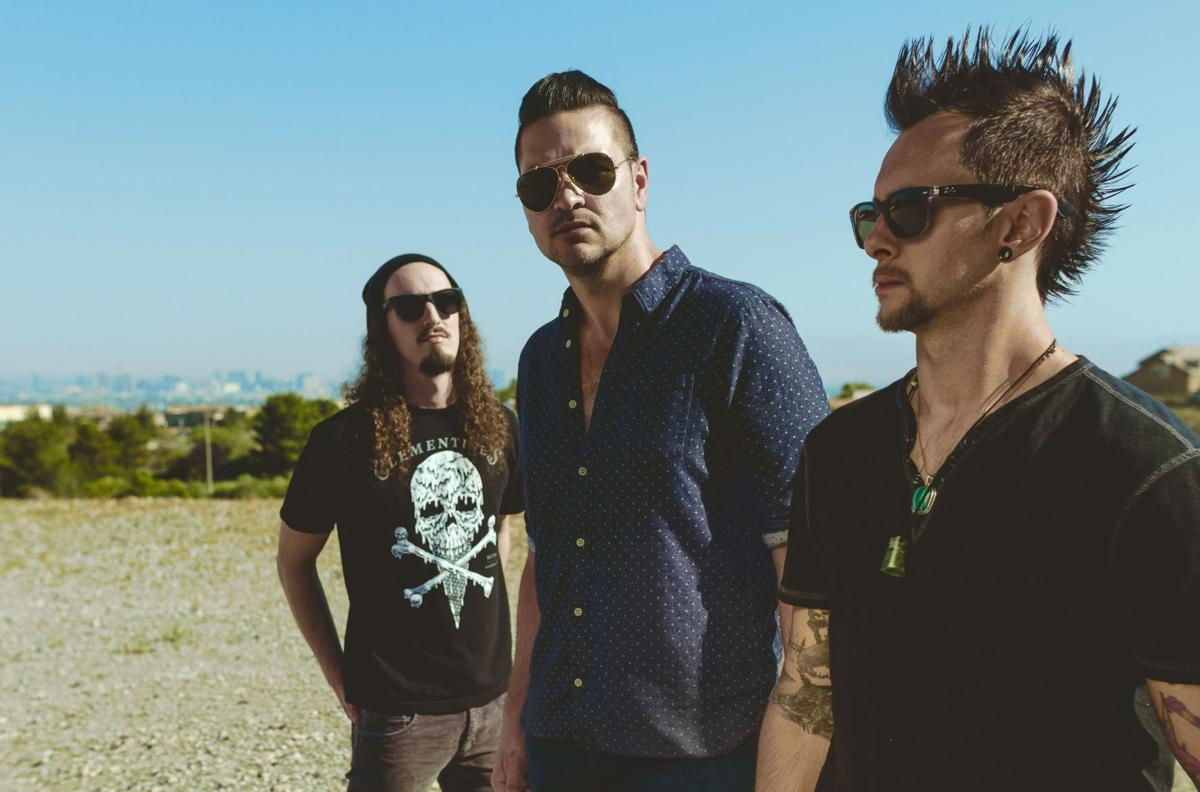 """Adelitas Way will be bringing its high-powered music to Tempe Marketplace and vocalist Rick DeJesus can't wait to give the audience a live version of the band's hit, """"Notorious."""""""