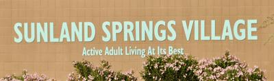 Signage at Sunland Springs Village