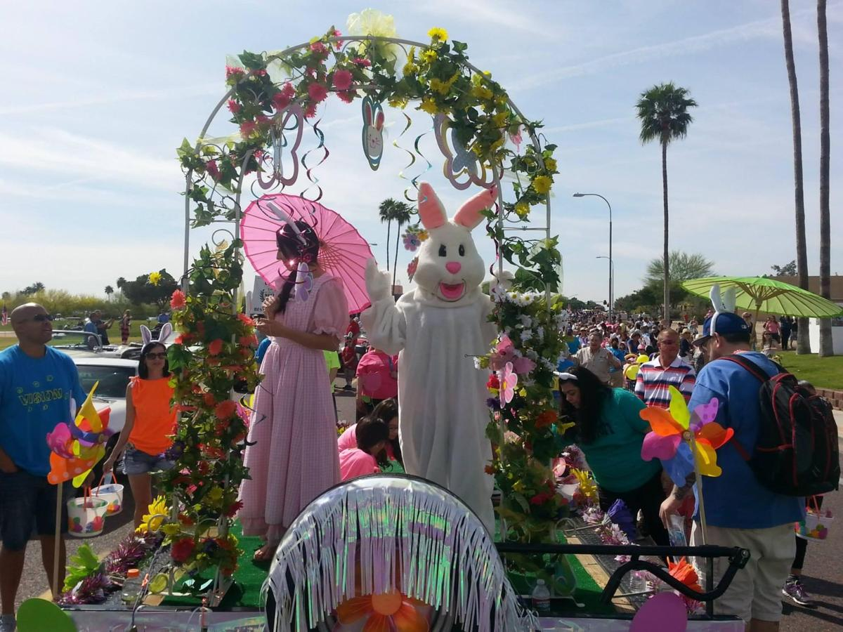 The 41st annual Ahwatukee Kiwanis Easter Parade steps off Saturday with one Easter bunny – and only one.