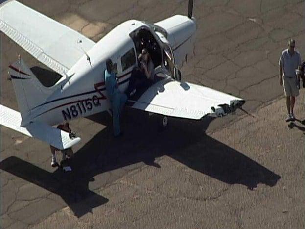 Mid-air plane collision