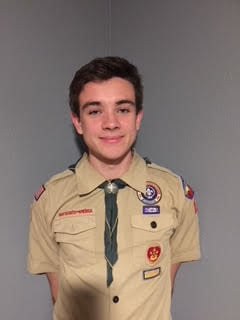 David Neighbors of Ahwatukee, along with twin brothers Ewan and Fraser Darroch, became Eagle Scouts on Feb. 26.