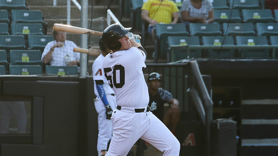 Mountain Pointe alumnus Kevin Cron is one of only three Diamondbacks to win the Southern League Most Valuable Player award for most runs, RBI and extra-base hits.