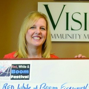 Main Street Ahwatukee Red, White and Boom donation