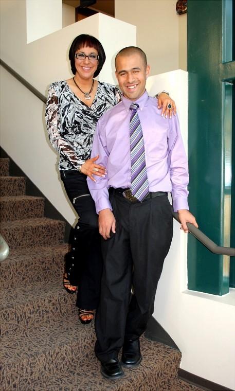 Coralea and son Desmond