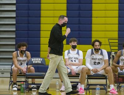 Desert Vista basketball COVID