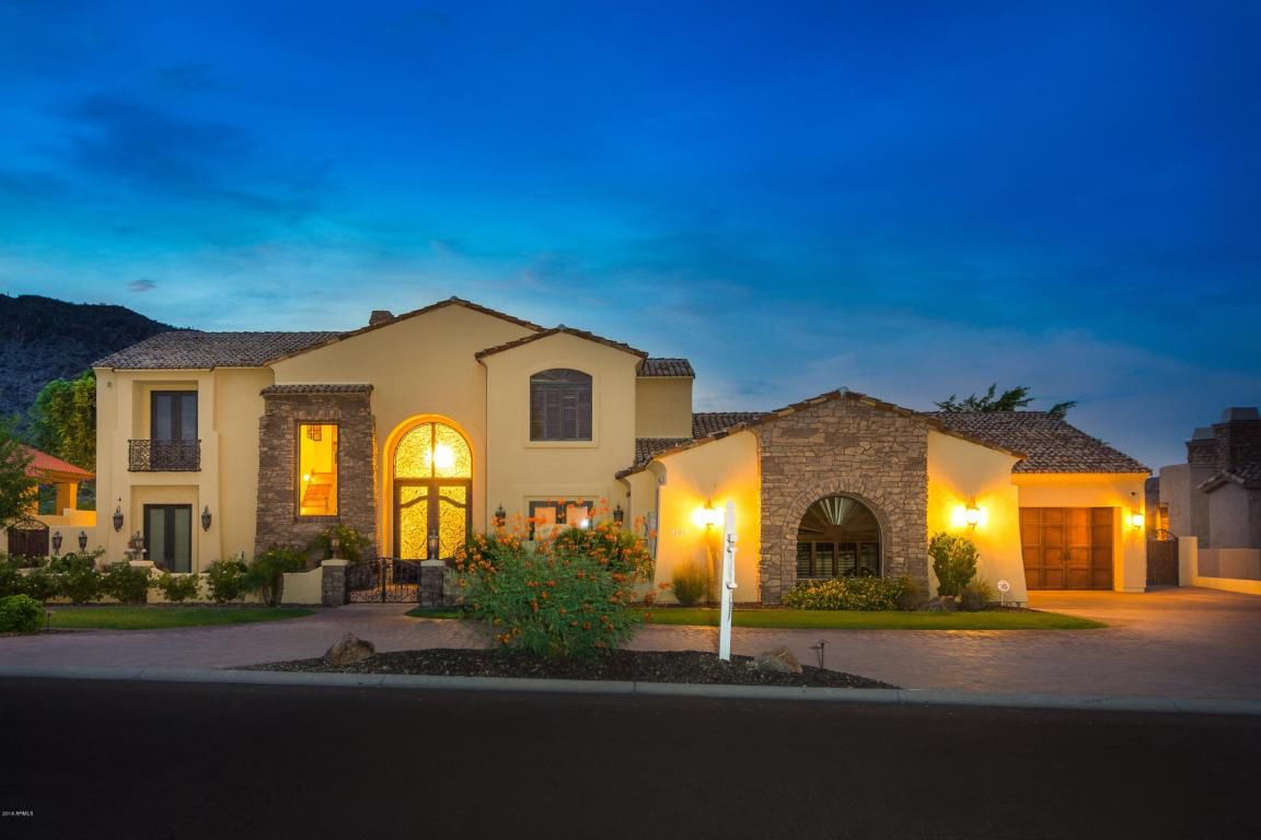 The latest home on E. Kachina Drive in Ahwatukee to sell for more than $1 million offers 7,600 square feet of luxury living where the full-equipped backyard and patio offers stunning mountain views.
