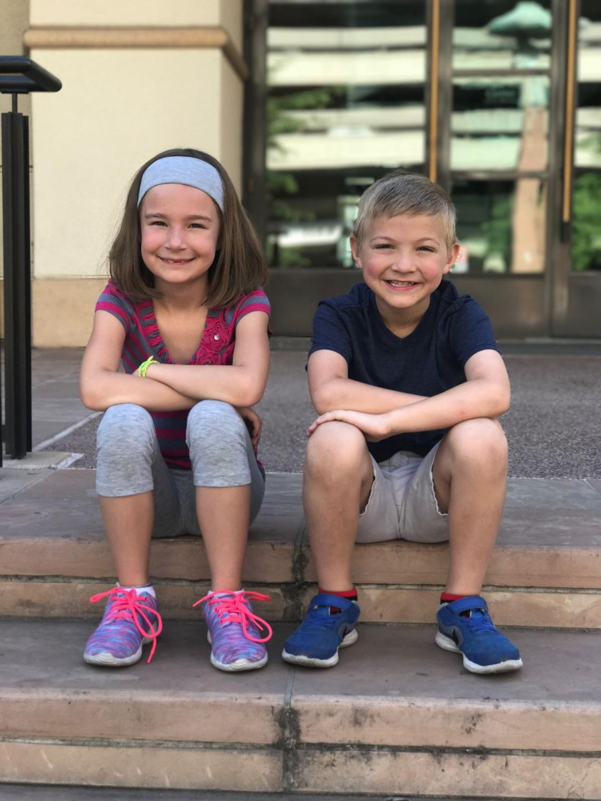 "Molly Preling and Cody Rooney are proud to be called Munchkins, since they're appearing in the Herberger Theater's version of the musical favorite ""The Wizard of Oz."""