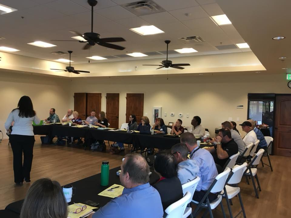 Business owners who belong to BNI Foothills Referral Partners gather every Wednesday morning and go around the room with succinct explanations about their business as well as deals they've closed through referrals from other members.