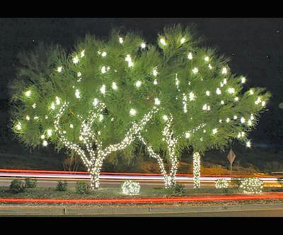 lights show to Foothills