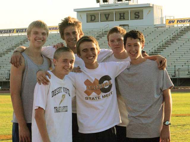 Desert Vista boys cross country thriving through depth, one-for-all approach
