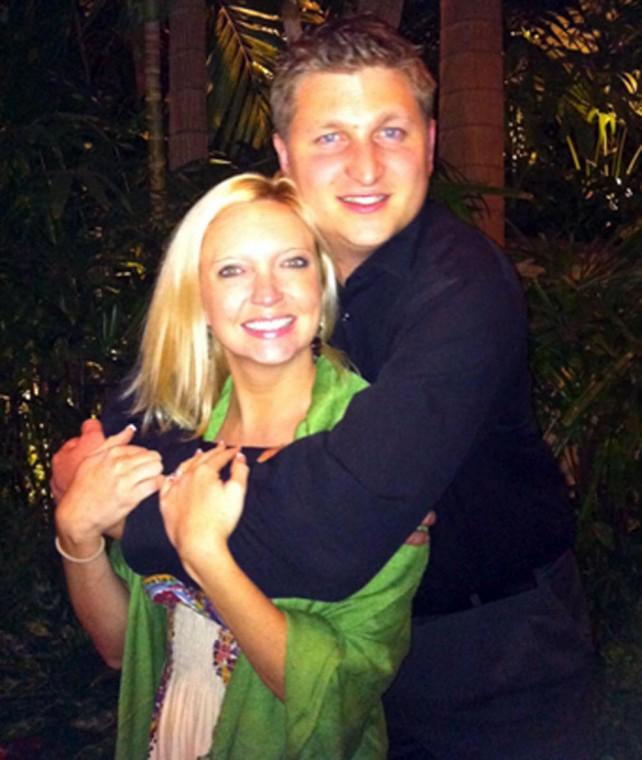 Drew Sampson and Jennifer Folger