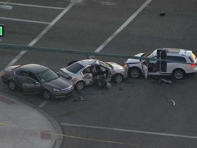 three-way collision