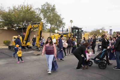 God's Garden Preschool's Transportation Day