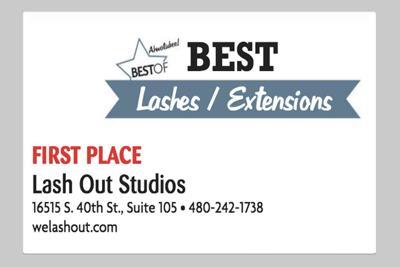 Lash Out Studios  16515 S. 40th St., Suite 105