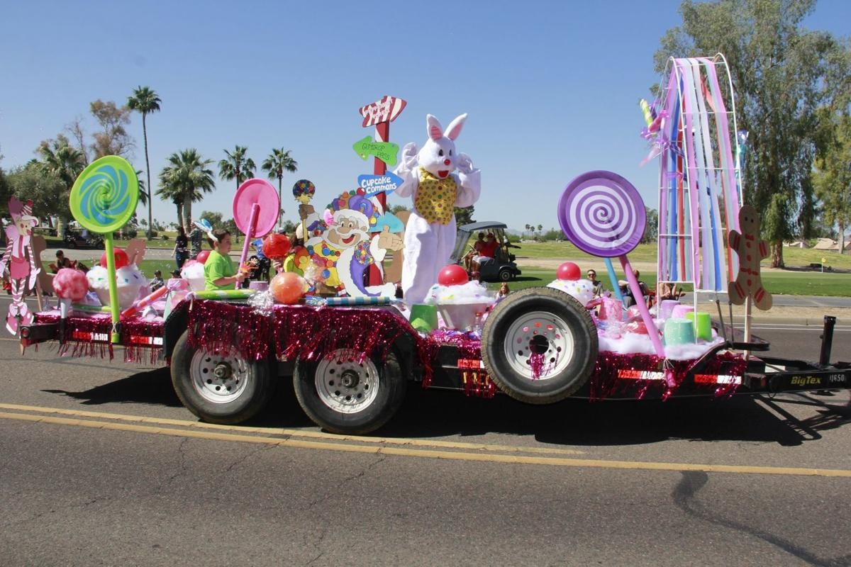 The Easter Bunny and his brightly colored float cruised down 48th Street last year during the Ahwatukee Kiwanis Club's 41st annual Easter Parade, the largest of its kind in Phoenix.
