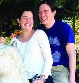 Laura Stevens and David Chan
